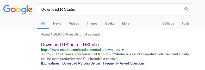 DOWNLOAD R STUDIO