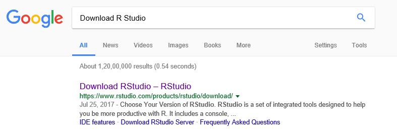 DOWNLOAD R STUDIO